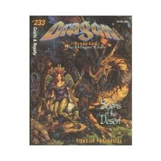Dragon Magazine: Avariel : The Winged Elves : Court & Royalty #233 : Scions of the Desert (Monthly Magazine): TSR Inc: 9780786905621: Books