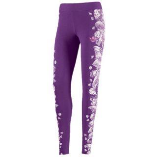 adidas Originals Graphic Leggings   Womens   Casual   Clothing   Tribe Purple