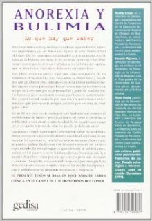 Anorexia y bulimia lo que hay que saber, Un mapa para recorrer un territorio trastornado (Divulgacion y Autoayuda) (Spanish Edition) Rosina Crispo, Eduardo Figueroa, Diana Guelar 9788474326062 Books