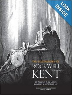 The Illustrations of Rockwell Kent: 231 Examples from Books, Magazines and Advertising Art (Dover Fine Art, History of Art): Rockwell Kent, Fridolf Johnson: 9780486233055: Books