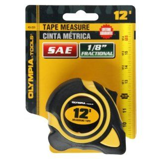 Olympia Tools 43 231 3/8 Inch  by 12 Feet  Tape Measure SAE: Home Improvement