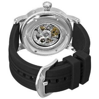 Stuhrling Original Men's 150DR.33162 Symphony Maestro III Automatic Skeleton Day, Date, Month, and 24 Hour Time Indication Watch: Watches