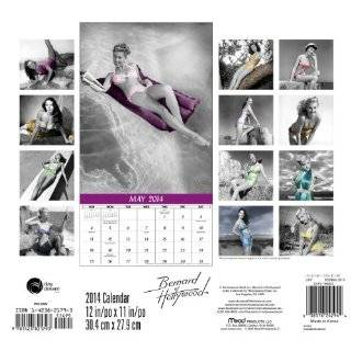 2014 Bernard of Hollywood Pin Ups Wall Calendar: ABG: 9781423821793: Books