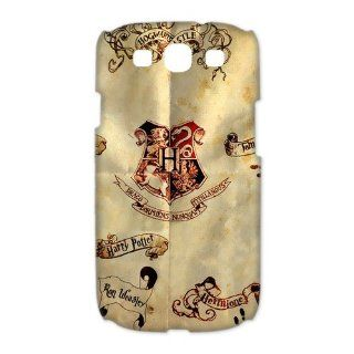 Marauders Map Case for Samsung Galaxy S3 I9300, I9308 and I939 Petercustomshop Samsung Galaxy S3 PC00080: Cell Phones & Accessories