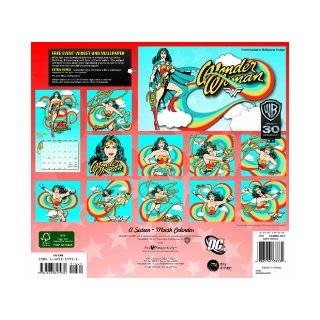 2013 Wonder Woman Wall Calendar: Day Dream: 9781423817932: Books