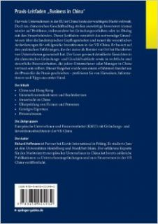 "Praxis Leitfaden ""Business in China"": Insiderwissen aus erster Hand (German Edition): Richard Hoffmann: 9783658024932: Books"