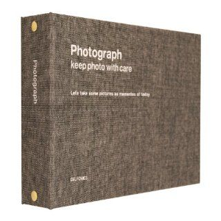Photograph Colorful Ring Album Collection Gray Chambray   Bookshelf Albums