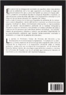 La inmigracion en Espana durante las primeras etapas del franquismo/ Immigration in Spain during the early stages of Franco (Spanish Edition) Maria Jesus Torquemada Sanchez 9788498494471 Books