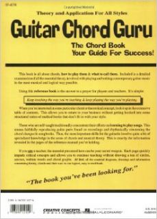 Guitar Chord Guru: The Chord Book   Your Guide for Success!: Karl Aranjo: 0073999151596: Books
