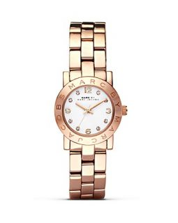 MARC BY MARC JACOBS Mini Amy Rose Gold Watch, 26mm's