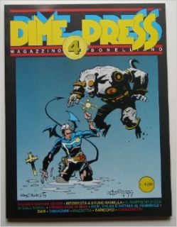 DIME PRESS #4 1st appearance of HELLBOY Mike Mignola Books