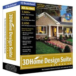 3D Home Design Suite Deluxe 4.0: Software