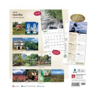 Costa Rica Calendar (Multilingual Edition): Browntrout Publishers: 9781465009968: Books