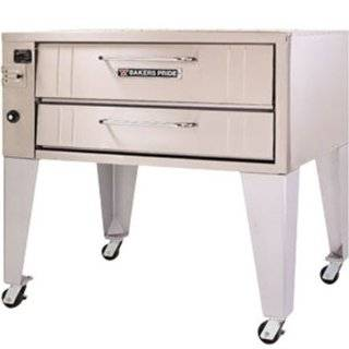 Bakers Pride 4151 NG 54 in Convection Pizza Single Deck Oven, Stubby, Shallow Depth, NG, Each Kitchen & Dining