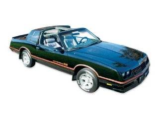 1985 1986 Chevrolet Monte Carlo SS Super Sport Decals & Stripes Kit   ORANGE Automotive