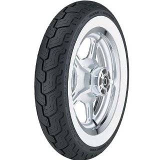 Dunlop D402 Touring Harley Davidson Cruiser Motorcycle Tire   Wide White Wall   MT90 16 / Rear Automotive