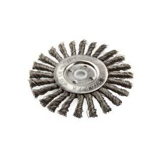 "Lincoln Electric KH307 Knotted Wire Wheel Brush, 9000 rpm, 6"" Diameter x 1/2"" Face Width, 5/8"" x 1/2"" Arbor (Pack of 1): Industrial & Scientific"