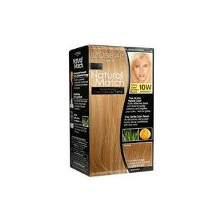 L'Oreal Natural Match Hair Color, 10W Light Golden Blonde  Hair Color Primers  Beauty