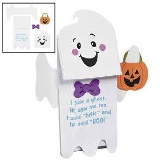 Ghost Puppet With Poem Craft Kit   Crafts for Kids & Novelty Crafts