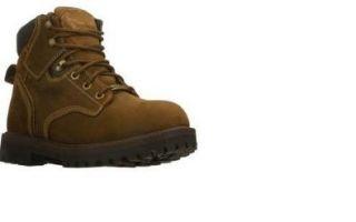 Skechers Sergeants Enlisted Mens Waterproof Work Boots Dk Brown 12 Shoes