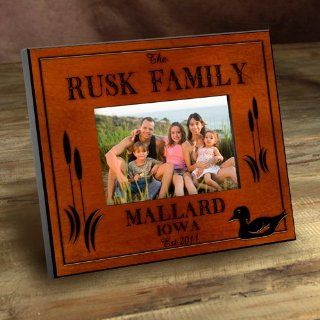 Wedding Favors Personalized Cabin Series Wood Duck Picture Frame: Health & Personal Care