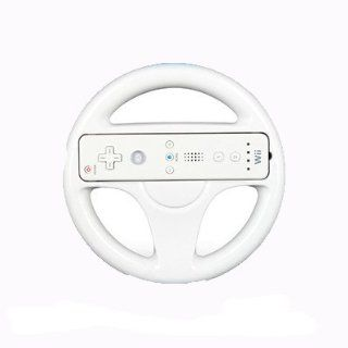 Round Racing Steering Wheel For Nintendo Wii Mario Kart Game Remote Controller IGN Fast shipping Beauty