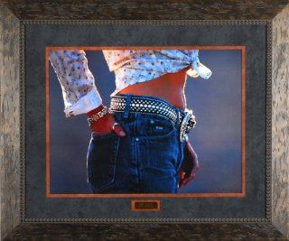 Soft Touch David Stoecklein 36x30 Gallery Quality Framed Art Western Cowgirl Ranch Photo Picture   Prints