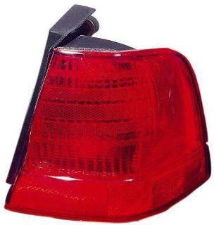 Depo 331 1956R US Ford Thunderbird Passenger Side Replacement Taillight Unit without Bulb: Automotive