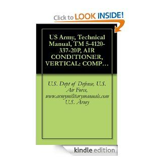 US Army, Technical Manual, TM 5 4120 337 20P, AIR CONDITIONER, VERTICAL COMPACT, SELF CONTAINED AIR COOLED, ELECTRIC MOTOR DRIVEN, 115 V, AC, 50/60 HZ,(FSN 4120 935 1609), military manuals eBook U.S. Dept of Defense, U.S. Air Force, www.armymilitarymanua