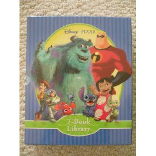 Disney Pixar 7 Book Library Set (Toy Story 2, The Incredibles, A Bug's Life, Lilo & Stitch, Monsters, Inc., Finding Nemo, Chicken Little) Disney Pixar 9781412738392 Books