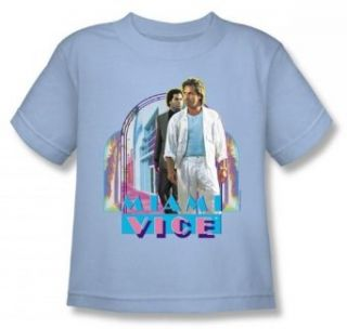 Miami Vice   Miami Heat Juvee T Shirt In Light Blue Clothing