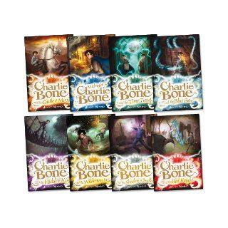 Charlie Bone Pack, 8 books, RRP �47.92 (Blue Boa; Castle of Mirrors; Charlie Bone & Hidden King; Charlie Bone & The Red Knight; Charlie BoneShadow Of Badlock; Charlie BoneWilderness Wolf; Midnight For Charlie Bone; Time Twister). (Children of the