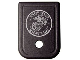 USMC Marines Crest Floor Base Plate for Glock 9mm .357 .40 .45GAP : General Sporting Equipment : Sports & Outdoors