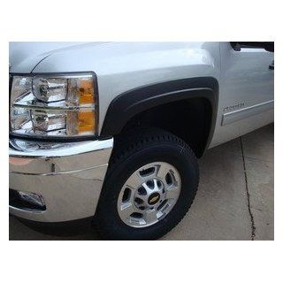 Chevy Silverado Painted Fender Flares 1500/2500/3500 2007 2011+ (Factory) 4 Pcs: Automotive