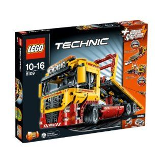 LEGO Technic 2 in 1 Flatbed Truck (8109): Toys & Games
