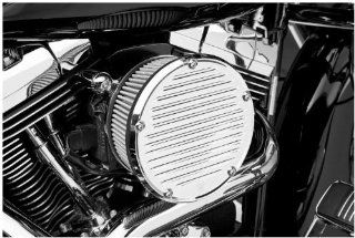 Arlen Ness Derby Sucker Air Filter Kit without Cover   Chrome Backing Plate   Stainless Steel Filter 18 371 Automotive