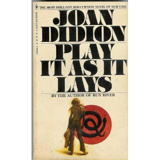 Play It As It Lays Joan Didion Books