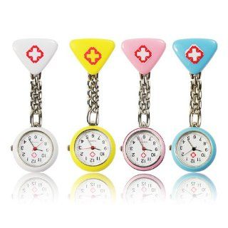 4PCS Hospital Mark Clip Chain Doctor Nurse Pocket Watch (1*377 include)   JUST ARRIVE!!!: Watches