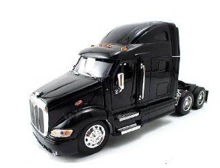 Jada Toys RoadRigz   Peterbilt 387 Model Tractor Trailer (1:32, Blue) diecast car toy: Toys & Games