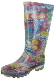 COACH Pixy Womens Authentic Rubber Water Resistant Wellies Rain Boots Shoes Shoes