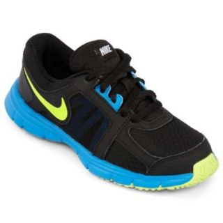 Nike Youth Dual Fusion ST 2(GS) Running Shoes Black/Volt/Photo Blue Shoes