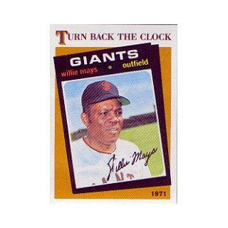 1986 Topps #403 Willie Mays TBC: Sports Collectibles
