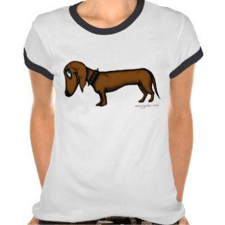 Funny dachshund t shirt design