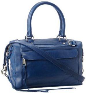 Rebecca Minkoff MAB Mini Shoulder Bag,White,One Size: Clothing