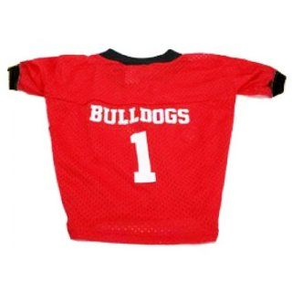 Georgia Bulldogs Personalized Dog Jersey: Pet Supplies