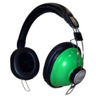 KINYO PH689G   Over the Ear Stereo Headphones   Green Electronics