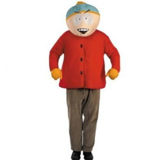 South Park Cartman Deluxe Adult Costume Size 42 46 Clothing