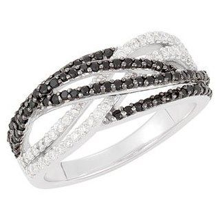 925 Sterling Silver Gen Spinel & Diamond Band Ring   (Sizes 5 to 9): Reeve and Knight: Jewelry