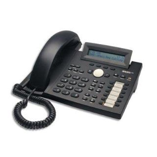 Ideal for general office and knowledge worker environments the snom 320 is an affordable yet powerful SIP business telephone with built in full duplex speakerphone and three party conference bridging. A 2 x 24 semi graphic LCD display and menu driven user