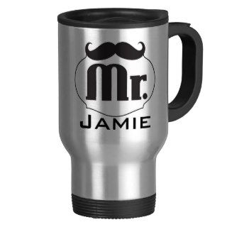 Mr. Mustache Retro Vintage Hipster Gifts Coffee Mugs
